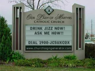 Drink Jizz now, ask Jesus how!